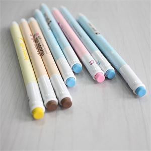0.5mm Candy Color Cute Kawaii Erasable Gel Pen Milk Plastic Pen for Kids Gift School Supplies Stationery - 10MINUS: Online Shopping Destination with High-Quality