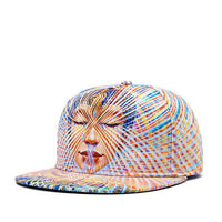 Brands NUZADA 3D Color Printing Pattern Men Women Sports Hat Hats Baseball Cap Fashion trends Hip Hop Snapback Caps bone jt-001 - 10MINUS: Online Shopping Destination with High-Quality