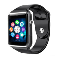 1.56 Inch WristWatch Bluetooth Smart Watch Android With Camera Sim Card Smartwatch For IOS Iphone Russia Whatsapp Facebook - 10MINUS: Online Shopping Destination with High-Quality