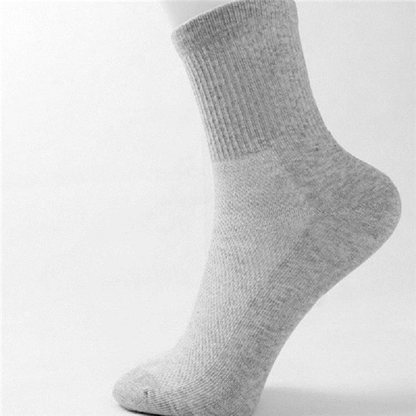 1 pair high quality man socks male high cotton men sock pure color business style autumn 2016 hot wholse Japan man's - Best price in 10minus