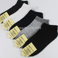 1 Pair men Sock Summer Autumn Winter Warm Cotton Socks fashion  Ankle Low Cut Classic Solid Color Casual Crew Socks 5 color - 10MINUS: Online Shopping Destination with High-Quality
