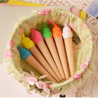 1 PC creative ice cream pen kawaii gel pen caneta material escolar stationery office school supplies gift random color - 10MINUS: Online Shopping Destination with High-Quality