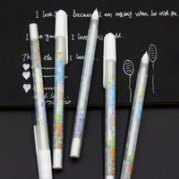 1 PCS 0.8mm White Ink Photo Album Gel Pen Stationery Office Learning Cute Unisex Pen Wedding Pen Gift For Kids Writing Supplies - 10MINUS: Online Shopping Destination with High-Quality