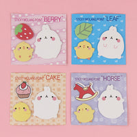1 PCS Kawaii Korea Molang Rabbit N Times Sticky Notes School Office Stationery For Kids Study Supplies - 10MINUS: Online Shopping Destination with High-Quality