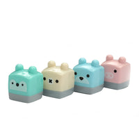 1 Pcs M&G Mini Cute Kawaii Small Candy Colored Standard School Supplies Pencil Sharpener For Kids Girls Stationery Items Tools - 10MINUS: Online Shopping Destination with High-Quality