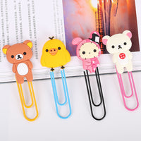 1 Pcs Metal Paper Clip Cute Bear Metal Bookmarks Stationery Office Accessories School Decoration Supplies - 10MINUS: Online Shopping Destination with High-Quality
