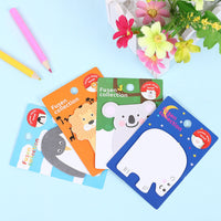 1 PCS New Arrival Animals N Times Self Adhesive Memo Pad Sticky Notes School Office Supply Creative Gifts for Kids - 10MINUS: Online Shopping Destination with High-Quality