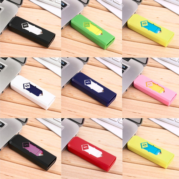 1 pcs USB Electronic Rechargeable Battery Flameless Cigar Cigarette No flame Lighter No Gas/Fuel Lighter - 10MINUS: Online Shopping Destination with High-Quality