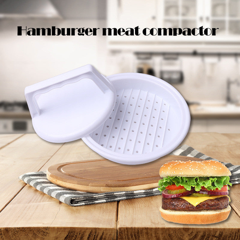 1 Set Burger Press Hamburger Maker Non Stick Cakes Patty Mold Ideal for BBQ Grill Accessories DIY Burger Maker Home Kitchen Tool - 10MINUS: Online Shopping Destination with High-Quality