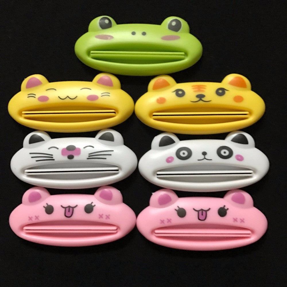 1 x Cute Animal Toothpaste Squeezer Dispenser Organiser travel tidy Kids - 10MINUS: Online Shopping Destination with High-Quality