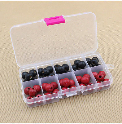 10 Compartments Plastic Box Jewelry Bead Storage Container Craft Organizer - 10MINUS: Online Shopping Destination with High-Quality