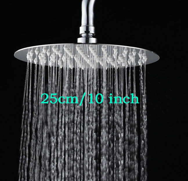 10 MINUS 10 inch round style Round & square Stainless Steel Ultra-thin Showerheads 12/10/8/6/4 inch Rainfall Shower Head Rain Shower Chrome Finish Round & square Stainless Steel Ultra-thin Showerheads 12/10/8/6/4 inch Rainfall Shower Head Rain Shower Chrome Finish Round & square Stainless Steel Ultra-thin Showerheads 12/10/8/6/4 inch Rainfall Shower Head Rain Shower Chrome Finish 10 inch round style