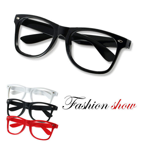 100% Brand New 1pc FASHION Cute Mens Women students cartoon Eye Glasses Frame No Lens Many Colors - 10MINUS: Online Shopping Destination with High-Quality