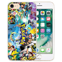 New Pokemons animal anime Hard Transparent Phone Case Cover Coque for Apple iPhone 4 4s 5 5s SE 5C 6 6s 7 Plus - Best price in 10minus