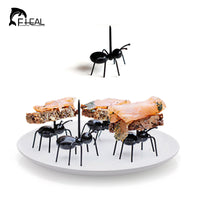 12pcs/set Reusable Kawaii Ant Fruit Fork Newest Tableware Multiple Use Snack Cake Dessert Forks For Party Fruit Pick - 10MINUS: Online Shopping Destination with High-Quality