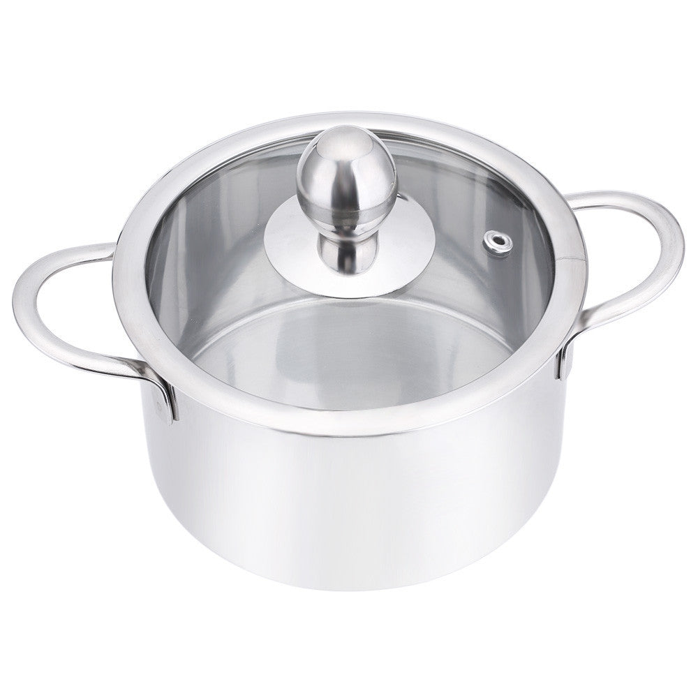 16/18/20CM High Quality Stainless Steel Duck Hot Pot Thick Non-stick Milk Soup Stockpot with Cover for Cooker Special Pot - 10MINUS: Online Shopping Destination with High-Quality