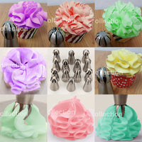 19 Styles 1pc Sphere Ball Shape Cream Stainless Steel Russian Icing Piping Nozzle Pastry Cupcake Tips Bicos De Confeitar - 10MINUS: Online Shopping Destination with High-Quality