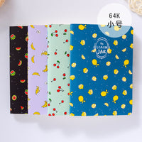 1Pc Kawaii Wood-in Fruit Jar Kraft Paper BLANK Notebook Journal Diary Notepad Vintage Soft Copybook Memos Pads Cute Stationery - 10MINUS: Online Shopping Destination with High-Quality