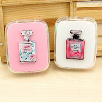 1PCS Cartoon Cute sweet Perfume bottle Contact Lenses Case fashion Contact Lenses Box  for Eyes Care Kit Holder Container Gift - 10MINUS: Online Shopping Destination with High-Quality