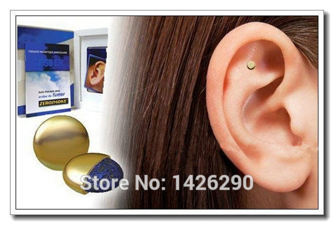 1PCS Quit Smoking Zerosmoke Healthy Care Auricular Zerosmoke Magnets zero Smoking Auricular Therapy  Massage & Relaxation - 10MINUS: Online Shopping Destination with High-Quality