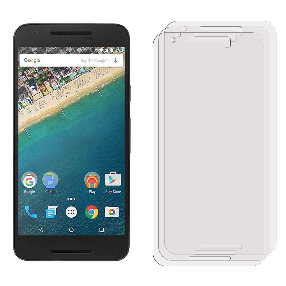 1X 3 X 5X For LG Nexus 5X Clear Screen Protector On LG Nexus 5X - 10MINUS: Online Shopping Destination with High-Quality