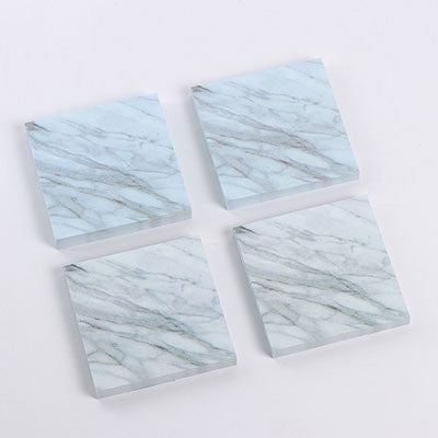 1 pcs Creative marbling texture memo pad paper Post-it notes sticky notes notepad kawaii stationery school supplies kids gifts - 10MINUS: Online Shopping Destination with High-Quality