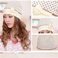2014 New Bowtie Decoration Cap Women/Fashion Windproof Women Hat/Warm Casual Hat For Pregnant Lady - 10MINUS: Online Shopping Destination with High-Quality