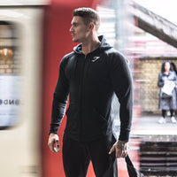 2016 autumn Gymshark Mens Hoodies camisetas pullover hombre coat Bodybuilding fitness jacket Sweatshirts Muscle men sportswear - 10MINUS: Online Shopping Destination with High-Quality