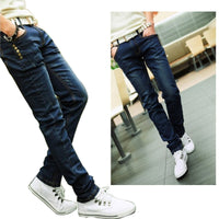 2016 fashion Brand Jeans Men Stripe Jeans Male Casual Straight Denim Men's Jeans Slim Wholesale Jeans 0133 - 10MINUS: Online Shopping Destination with High-Quality