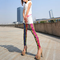 2016 Fashion Sexy Women Distressed Laser Cut Out Ripped Sexy Stretch Cotton Leggings Hot - 10MINUS: Online Shopping Destination with High-Quality