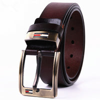 2016  genuine leather belt men luxury strap male belts for men buckle fancy vintage jeans cintos masculinos ceinture homme - 10MINUS: Online Shopping Destination with High-Quality