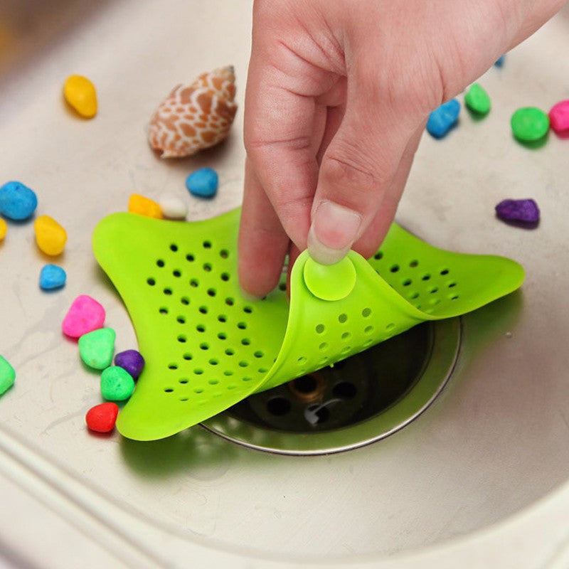 2016 Hot Sale Colorful Silicone Kitchen Sink Filter Sewer Drain Hair Colanders & Strainers Filter Bathroom Sink - 10MINUS: Online Shopping Destination with High-Quality