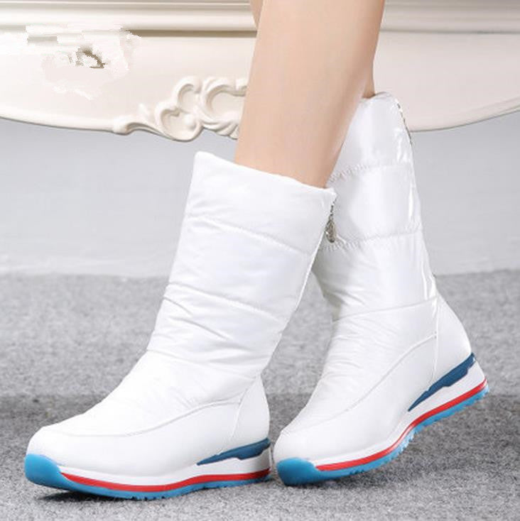 2016 Korean version  new winter warm woman snow boots waterproof non-slip   increased casual woman snow boots fashion shoes - 10MINUS: Online Shopping Destination with High-Quality