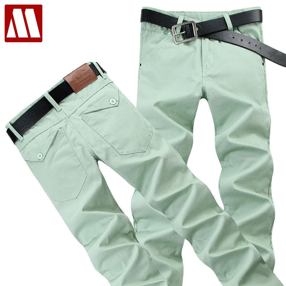 2016 New Arrival Fashion Men Pants Casual Slim Fit Pants Men Cotton Twill Skinny Chinos Plus Size 28-38 Casual Pants For Men - 10MINUS: Online Shopping Destination with High-Quality