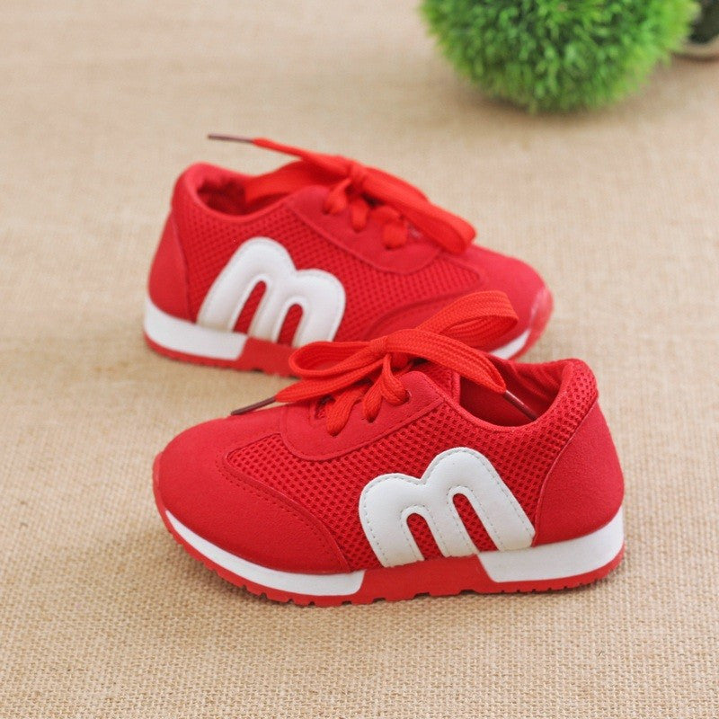 2016 New Children Mesh Canvas Shoes Spring Autumn Boys Girls Sport Running Shoe Breathable Antislip Soft Bottom Baby Kid Sneaker - 10MINUS: Online Shopping Destination with High-Quality
