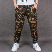 2016 New Designer Spring Mens Pants Camouflage Fashion Trousers Fake Zippers Casual Pants Hip Hop Long Trousers - 10MINUS: Online Shopping Destination with High-Quality