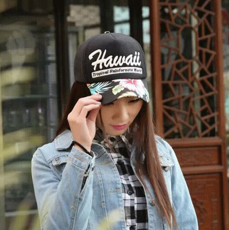 2016 New Fashion Bone Letter HAWAII Baseball Caps Summer Women Snapback Outdoor Sports Hats For Men gorras Wholesale and retail - 10MINUS: Online Shopping Destination with High-Quality