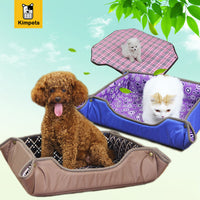 2017 New High Quality Multifunctional Dog Mat 3 Size Pet Bed Collapsible Dog House Waterproof Oxford Dog Sofa Washable Cat Mat - Best price in 10minus