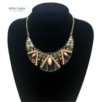 2017  women fashion bohemian necklace&pendants modern hippie vintage big name choker necklace tribal ethnic boho mujer accessory - 10MINUS: Online Shopping Destination with High-Quality
