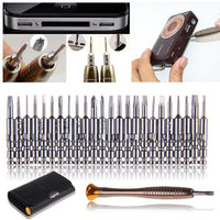 25 in 1 Precision Screwdriver Cell Phone Wallet Repair Tool Set For iPhone Cellphone Electronics - 10MINUS: Online Shopping Destination with High-Quality