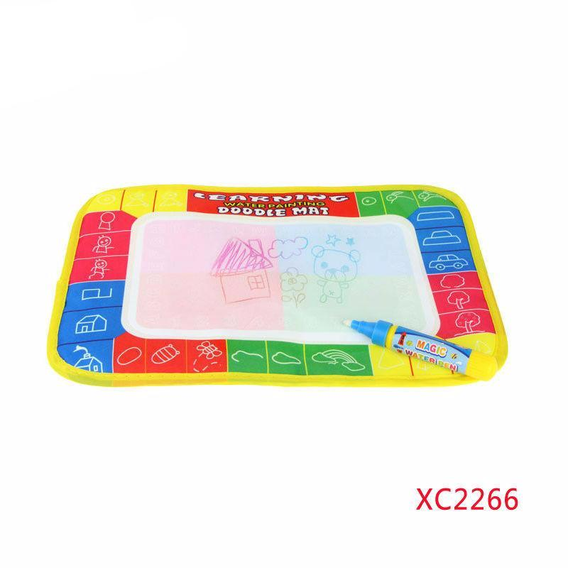 29X19cm 4 color Mini Water Drawing rug &1 Magic Pen/Water Drawing board/baby play mat - Best price in 10minus