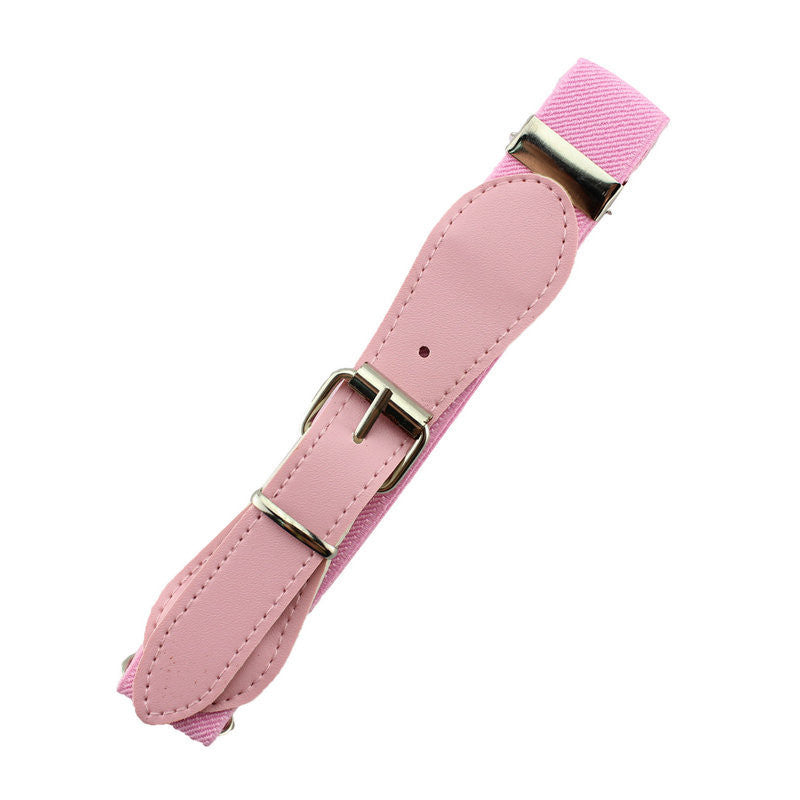 Retail new 2016 fashion Candy Color 1 Inch Wide Kids/Children Elastic Waist Belt For Boys/Girls - 10MINUS: Online Shopping Destination with High-Quality