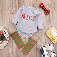 4pcs Newborn Toddler Baby Girls Kids Bodysuit Clothes Long Sleeve Nice Print Bebes Girls Bodysuits Clothes Outfits 0-18M - Best price in 10minus