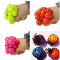 5CM Funny toys Antistress Face Reliever Grape Ball Autism Mood Squeeze Relief Healthy Toys Funny Geek Gadget for Halloween Jokes - 10MINUS: Online Shopping Destination with High-Quality