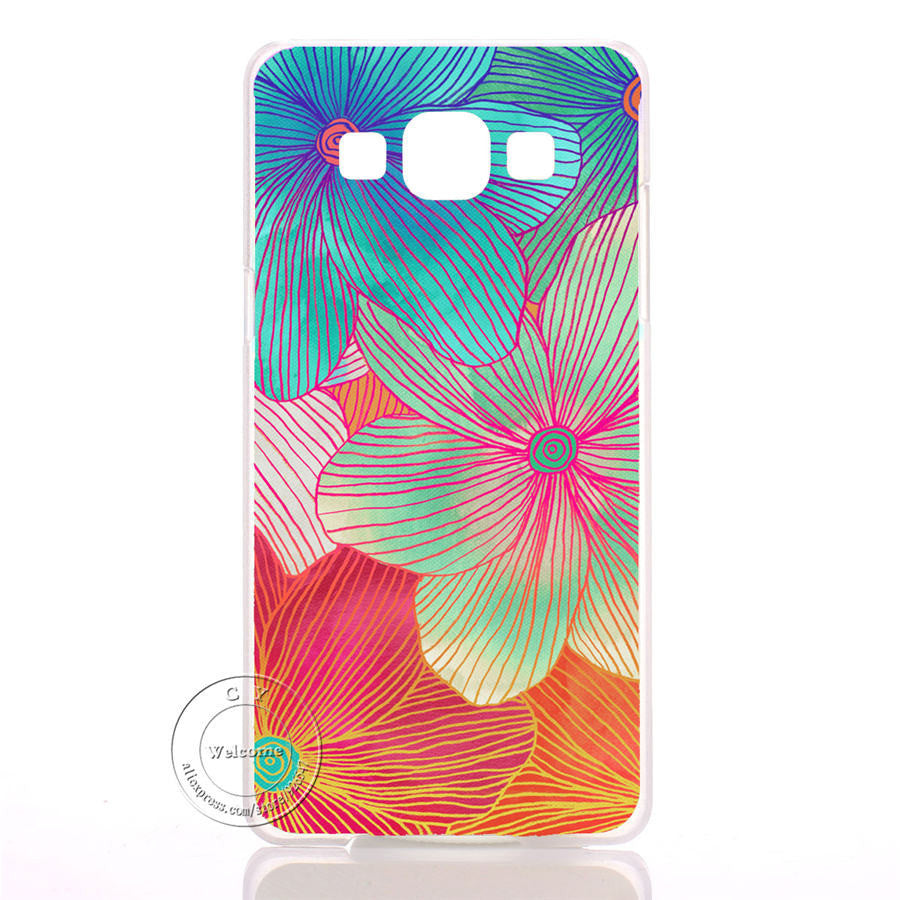 Mandala Flower Datura Floral Clear Hard Plastic Case Cover For Samsung Galaxy S3 S4 S5 Mini S6 S7 Edge Note 2 3 4 5 7 - Best price in 10minus