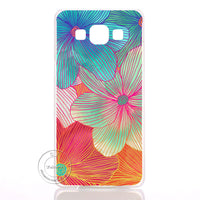 Mandala Flower Datura Floral Clear Hard Plastic Case Cover For Samsung Galaxy S3 S4 S5 Mini S6 S7 Edge Note 2 3 4 5 7 - 10MINUS: Online Shopping Destination with High-Quality
