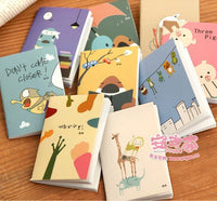 1 PCS Kawaii Relaxed Bear Palm Notepad Portable Colorful Notebook Student Stationery - 10MINUS: Online Shopping Destination with High-Quality