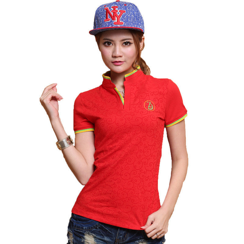 2016 High Quality Polo Femme Shirt Cotton Slim Women Polo Shirt Plus Size Brand Polo Raph Women 7056 - 10MINUS: Online Shopping Destination with High-Quality