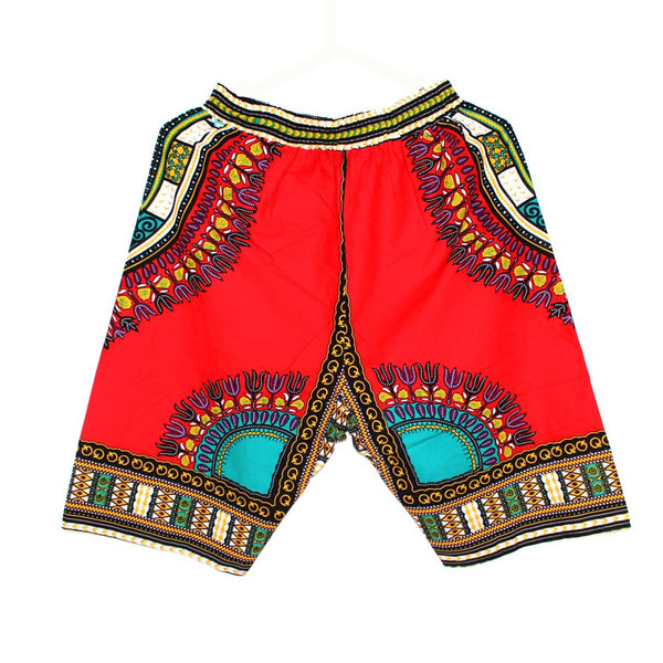 8 Colors New 100% Cotton African Dashiki Short Pants - Plus Size - Best price in 10minus