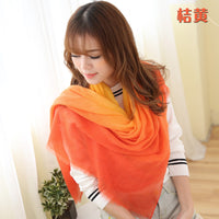 2016 New Fashion Winter Scarves Women Brand cachecol Gradient scarf Foulard Femme Designer Cotton shawls Scarf - 10MINUS: Online Shopping Destination with High-Quality